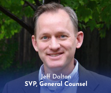 Jeff Dalton, SVP, General Counsel